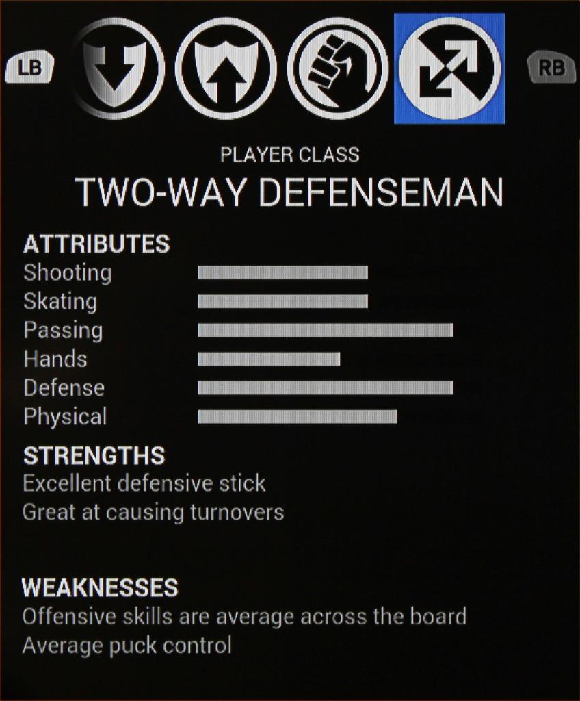 Two-Way Defenseman