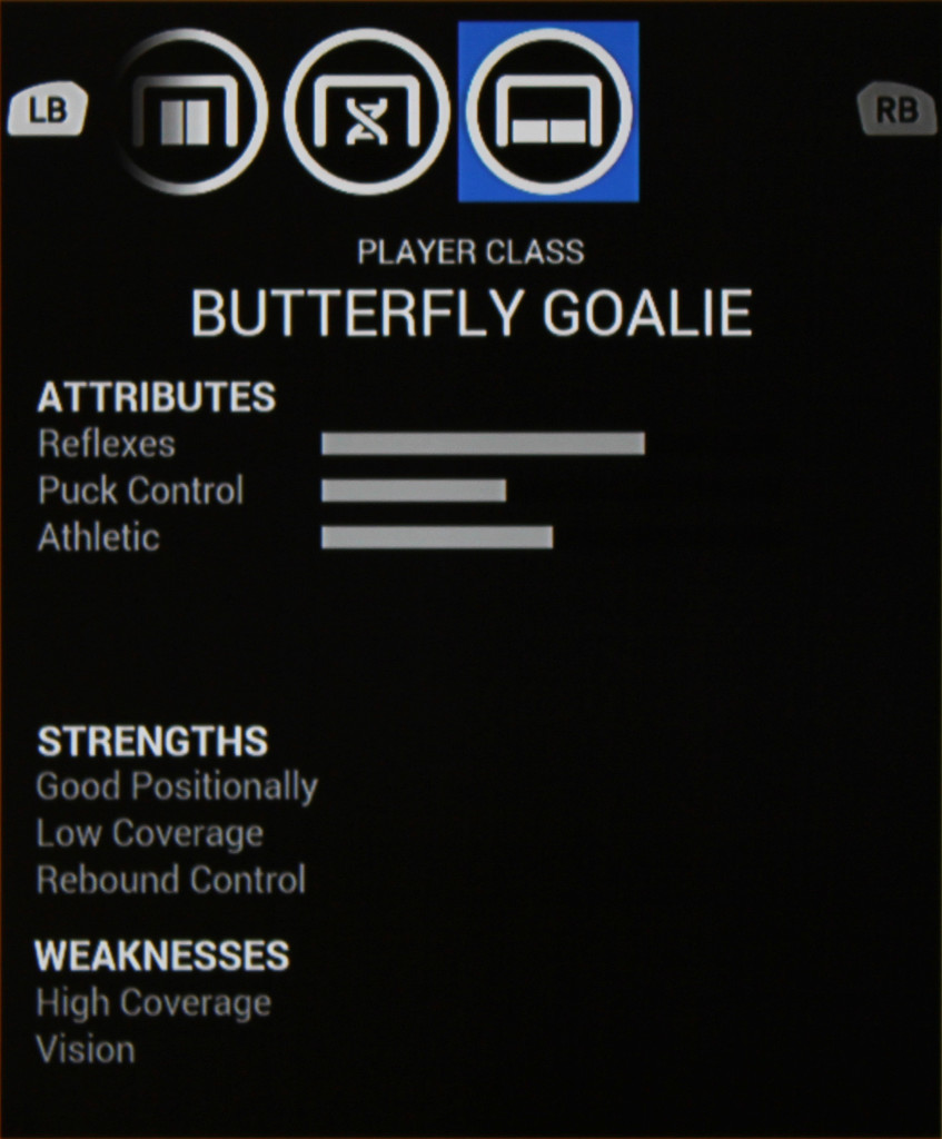Butterfly Goalie