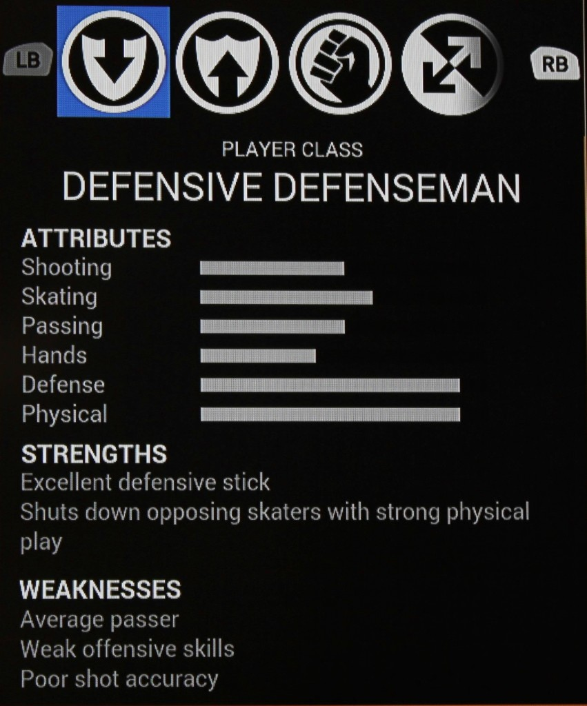 Defensive Defenseman