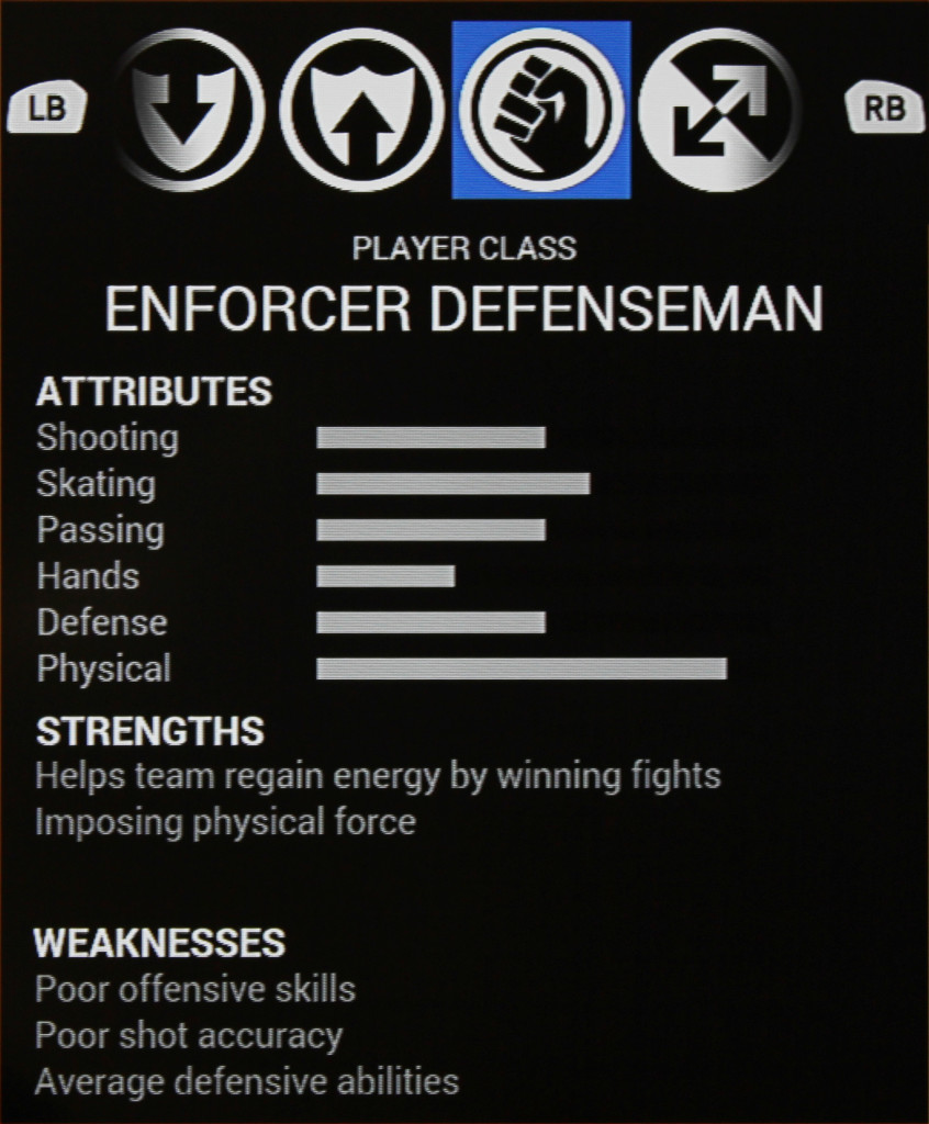 Enforcer Defenseman