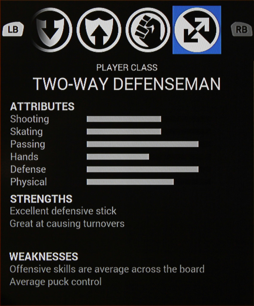 Two-Way Defenseman